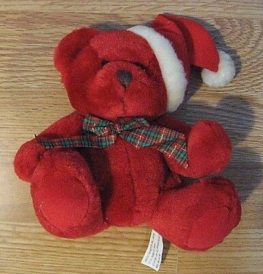 AVON Christmas Teddy Bear Plush 1999