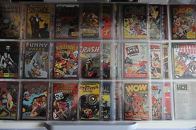 Golden Age Of Comics All Chromium Trading Card Set -Comic Images 1995