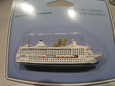 NEW Official Royal Caribbean Jewel of the Seas Ship Ornament Christmas RCCL 5 ""