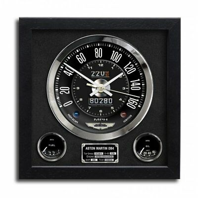 Chronos Speedometer Art Print Wall Clock Aston Martin DB4