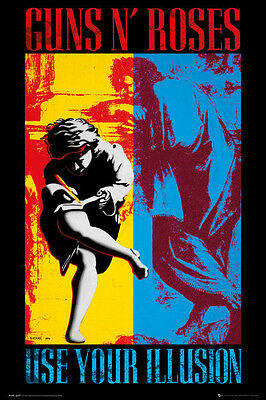 Guns N' Roses use your illusion Textile Poster Flag