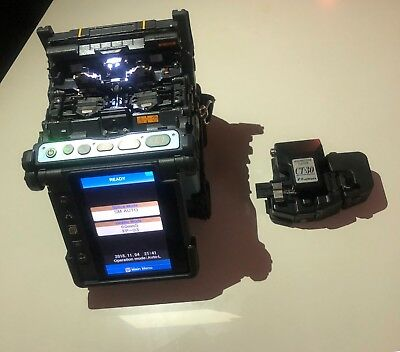 Fujikura 70S SM MM Core Alignment Fiber Fusion Splicer w/ Cleaver Splice # 4,985