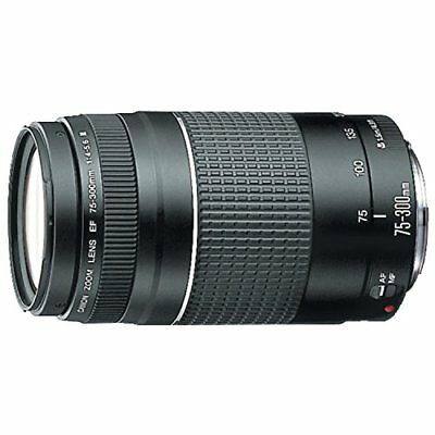 Canon EF lens EF 75-300mm F4-5.6 III zoom lens telephoto JAPAN