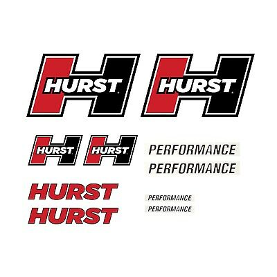 """AUTHENTIC OE HURST DECAL STICKER 3/"""" x 4/"""""""