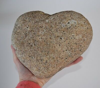 Large Heart Shaped River Rock, Stone, Love, Wedding Gift from Maine 100% Natural