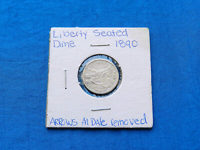 1890 Seated Liberty Silver Dime *XF*