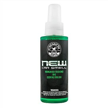 Chemical Guys New Car Smell Premium Air Freshener Odor Eliminator 4oz