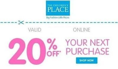 Children's Place 20% Coupon Code - Vаlid 12/31/2018 - PLЕАSE RЕАD