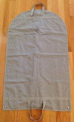 Brunello Cucinelli Garment Canvas Storage Bag Brand New High Quality