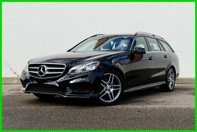 2014 Mercedes-Benz E-Class E 350 4MATIC® AWD Sport Wagon - AMG Wheels - 360 Cam 2014 E350 4MATIC Wagon - AWD - Sport Pkg, Premium 1 Pkg, Lane Pkg, Parking Pkg