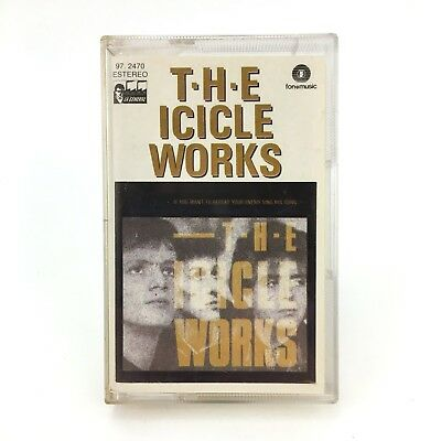 The Icicle Works If You Want To Defeat Your Enemy Sing His Song Spanish Cassette