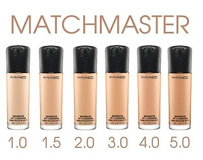 NEW ❤️ MAC Matchmaster SPF 15 Foundation. Full Size 35ML.. VARIOUS SHADES. BNIB