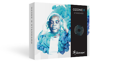 New Izotope Ozone 8 Standard Mastering Suite Software AAX/RTAS/VST Mac/PC