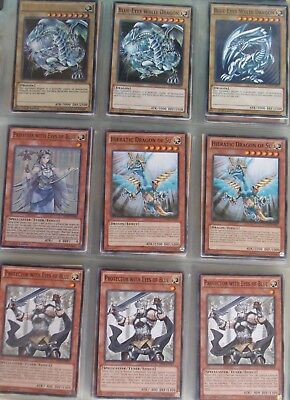 Yugioh card lot (1000s of cards in stock) deck collection: Blue-Eyes (41)