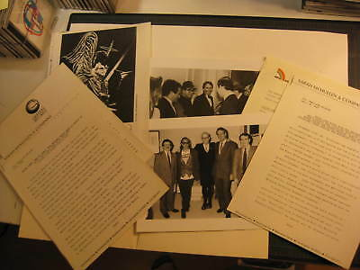 Elton John 1987 tour and MCA contract presskit materials ORIGINAL
