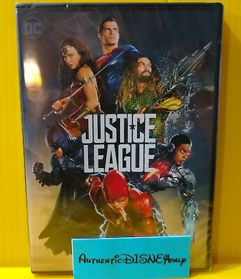 Justice League DVD 2-Disc Set Special Edition (2018) DC Authentic US Release NEW