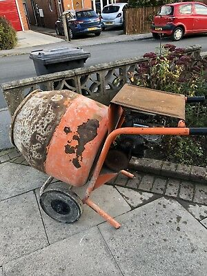 Cement Mixer With Honda Engine