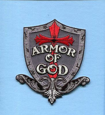 Religous Patch ARMOR OF GOD CHRISTIAN USAF US ARMY USMC US NAVY Squadron Unit