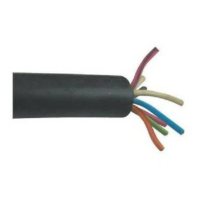 New 16/8 Soow Carol Black Rubber Cord Extension Wire