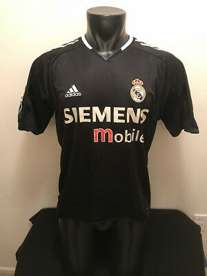 separation shoes 2ead1 8fd0f REAL MADRID FC Siemens Mobile Adidas Clima Cool Soccer Jersey Mens size  Medium