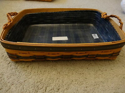 Longaberger Basket 1996 Serving Tray Collector's Club Edition