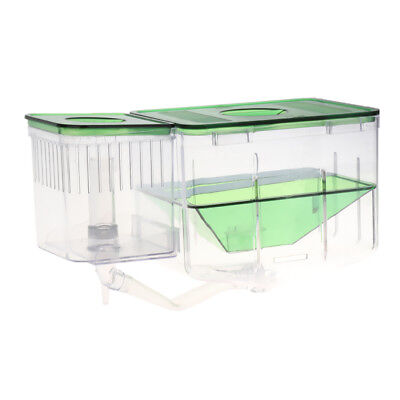 Aquarium Fish Tank Breeding Breeder Isolation Box Hatchery Protect Baby Fish