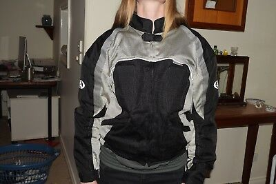 AGV Sport Small Motorcross Jacket Built In Shoulder and Elbow Pads