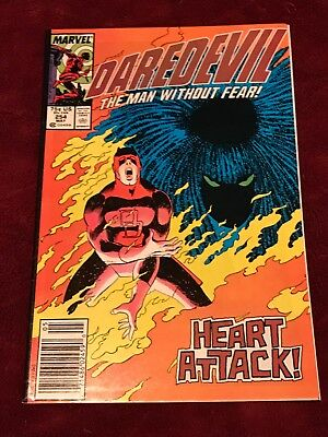 MARVEL COMICS key issue DAREDEVIL #254 1st appearance of TYPHOID MARY newsstand
