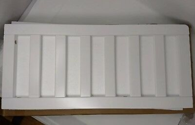 New, Open Box Delta Toddler Bed Guard Rail Style # 0080-100 White