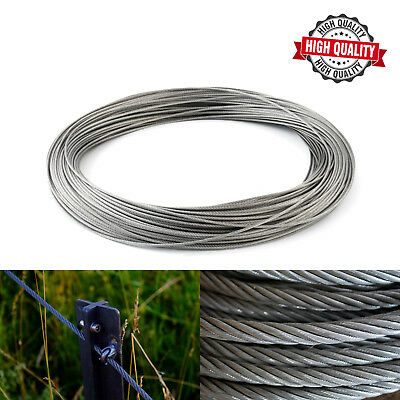1mm 1.5mm 2mm 3mm 4mm 5mm 6mm GALVANISED STEEL WIRE ROPE METAL CABLE HIGH QUALIT