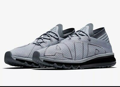 4cf06d62a783 NIKE Air Max Flair Running Shoes Mens Size 10 Wolf Grey Cool Grey 942236-003