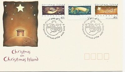 1994 Christmas Island - Christmas First Day Cover FDI
