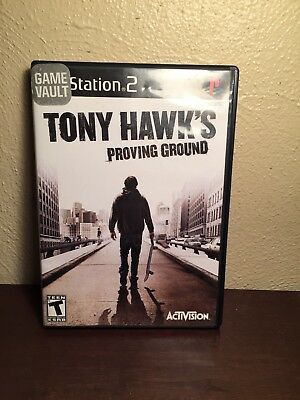 Tony Hawk's Proving Ground Sony Playstation 2 PS2 Video Game Complete