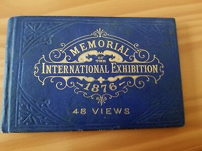 1876 Memorial International Exhibition at Philadelphia Souvenir Book