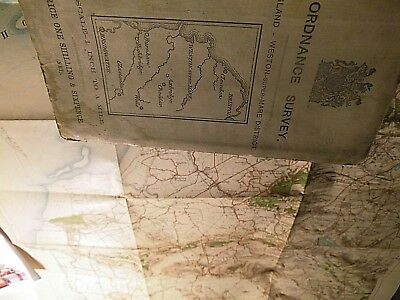 WESTON SUPER MARE SOMERSET:ANTIQUE ORDNANCE MAP-NONSTANDARD;Part:111,112,121,122