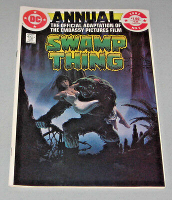 Saga Of The Swamp Thing - Annual #1 (1982)  Dc Comics - Vf/nm