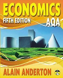 AQA A Level Economics Student Book by Mr Alain Anderton | Book | condition good