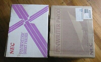 NEC Pinwriter 24pin dot matrix printer with Cut Sheet Feeder - New