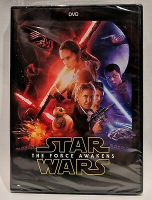 Star Wars Episode VII: The Force Awakens (DVD, 2016) New Unopened