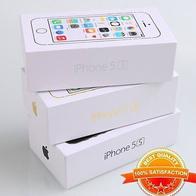 4'' Apple iPhone 5S 16GB/32GB/64GB Factory Unlocked Smartphone New in Sealed Box