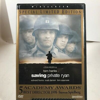 DVD - Saving Private Ryan - Tom Hanks - Special Limited Edition