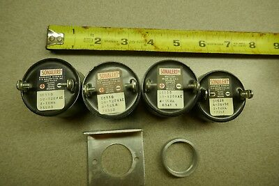 Lot of three Mallory Sonalert SC110  30-120V AC 4-16MA Alarm