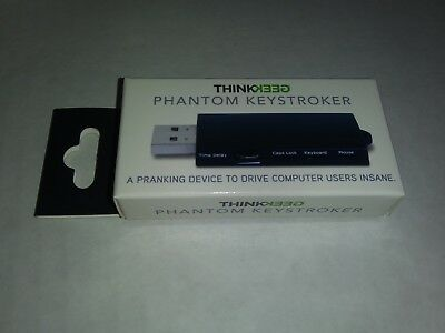 NEW ThinkGeek Phantom Keystroker USB Gag Gift PC Prank