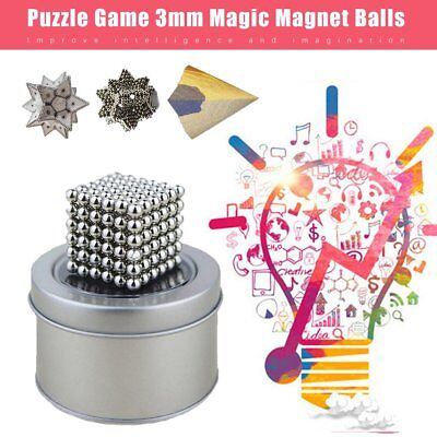 3mm Magic Magnet Balls 216pcs Strong Magnetic Puzzle Game For Stress Relief PS