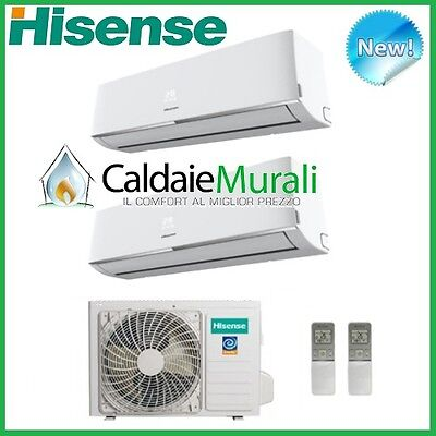 Conditionneur D'Air Hisense Dual Split Convertisseur Comfort 12000+12000 12+12