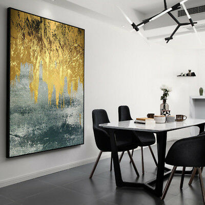 VV240 Hand-painted Abstract oil painting Modern Home Decoration Color art 36in