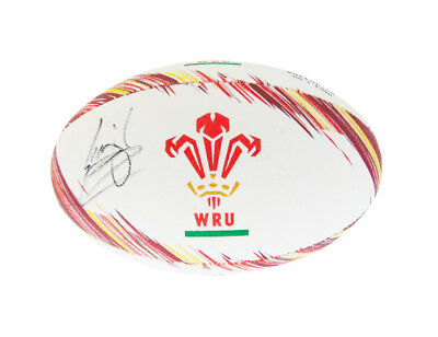 Signed Leigh Halfpenny Rugby Ball - Wales Superstar + *certificate*