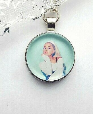 Ariana Grande Photo Key Ring Strong Chain Singer  Silver Plated Gift Boxed Party