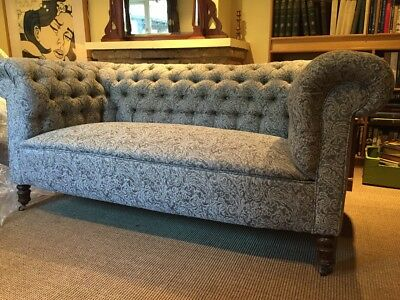 Antique Newly Restored Chesterfield Sofa