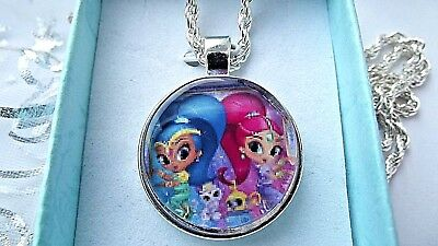 Shimmer And Shine Necklace 18 Inch 4 To 6 Y Gift Box Party Birthday Christmas